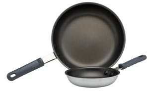 Induction S/S Fry Pans Coated