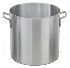 Heavy Weight Aluminum Stock Pot, 80 qt