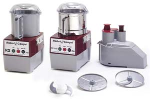 Commercial Food Processor (Grey Plastic Bowl)