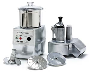 Commercial Food Processor with Variable Speed Drive