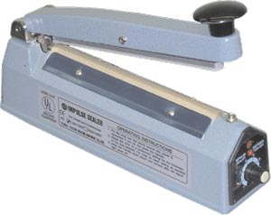 Manual Impulse Bag Sealer, 8""