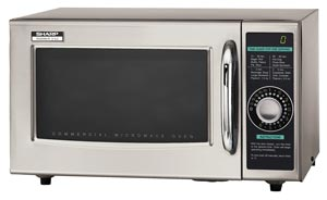 Sharp Dial Timer Commercial Microwave Oven