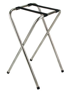 Standard Chrome Tray Stand