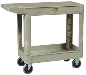 Rubbermaid 4500 Heavy Duty Utility Cart, Beige