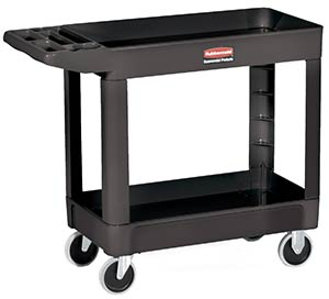 Rubbermaid 4500 Heavy Duty Utility Cart, Black