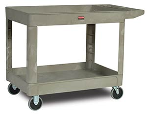 Rubbermaid 4520 Heavy Duty Utility Cart, Beige