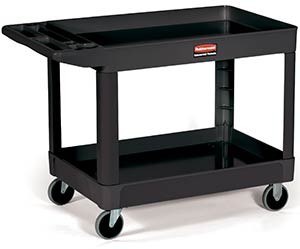 Rubbermaid 4520 Heavy Duty Utility Cart, Black