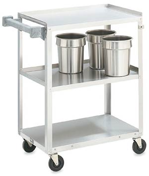 Vollrath 97120 Stainless Steel Bus Cart