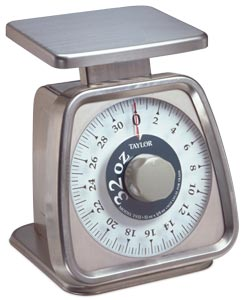 Taylor 32 oz. Fixed dial Analog Scale