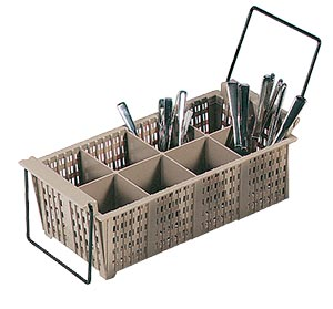 Flatware Basket with Handles