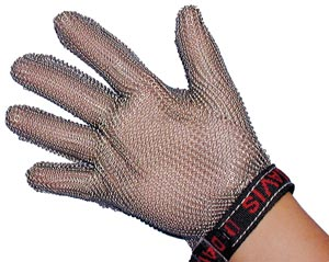 Saf-T-Guard Safety Mesh Gloves, Large