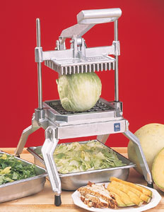 "Nemco Easy Lettuce Cutter, 1/2"" slices"