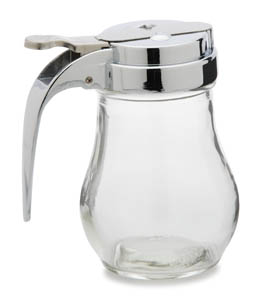 Glass Syrup Dispenser, 6 oz