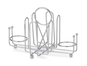 Sugar Packet & Salt / Pepper Wire Serving Rack