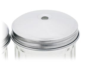 Center Hole Replacement Lid, 12 oz